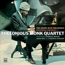 Обложка альбома Two Hours with Thelonious: Paris and Milan Concerts