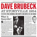 Обложка альбома Dave Brubeck at Storyville: 1954