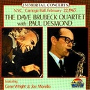 Обложка альбома N.Y.C., Carnegie Hall, February 22, 1963: The Dave Brubeck Quartet with Paul Desmond
