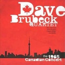 Обложка альбома The Canadian Concert of Dave Brubeck