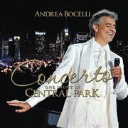 Обложка альбома Concerto: One Night in Central Park