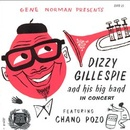 Обложка альбома Dizzy Gillespie and His Big Band