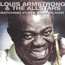 Обложка альбома Satchmo Plays King Oliver