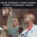 Обложка альбома Oscar Peterson with Harry Edison & Eddie Vinson
