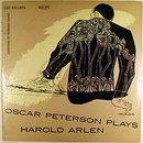 Обложка альбома Oscar Peterson Plays Harold Arlen