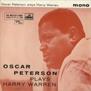 Обложка альбома Oscar Peterson Plays Harry Warren