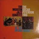 Обложка альбома The Modern Jazz Quartet and the Oscar Peterson Trio