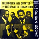 Обложка альбома The Oscar Peterson Trio with the Modern Jazz Quartet