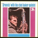 Обложка альбома Groovin' with the Chet Baker Quintet
