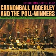 Обложка альбома Cannonball Adderley and the Poll Winners