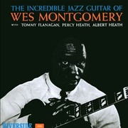 Обложка альбома The Incredible Jazz Guitar of Wes Montgomery