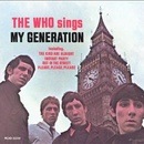 Обложка альбома The Who Sings My Generation