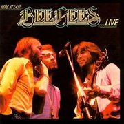 Обложка альбома Here at Last...Bee Gees...Live
