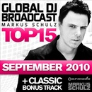 Обложка альбома Global DJ Broadcast Top 15: September 2010