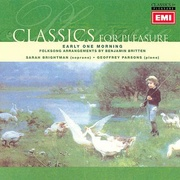 Обложка альбома Early One Morning: Folksongs Arranged by Britten
