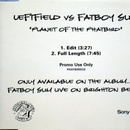 Обложка альбома Planet Of The Phatbird (Leftfield vs. Fatboy Slim)