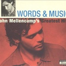 Обложка альбома Words & Music: John Mellencamp's Greatest Hits
