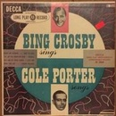 Обложка альбома Bing Crosby Sings Cole Porter Songs