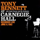 Обложка альбома Tony Bennett at Carnegie Hall